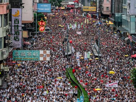 Riot Police Crack Down on Hong Kong Protestors
