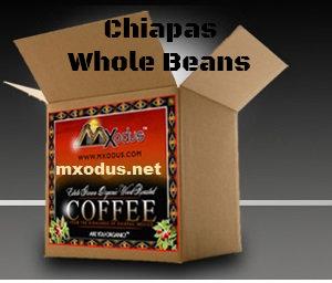 1Case Chiapas 8oz bag - Whole Bean