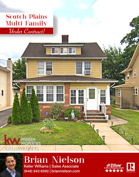 Scotch Plains Multi-Family SOLD!