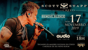 Remove Silence abrirá show do Scott Stapp
