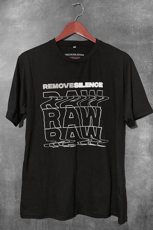 Camiseta Remove Silence - RAW