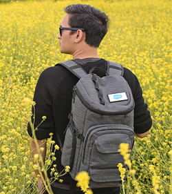 Crop backpack