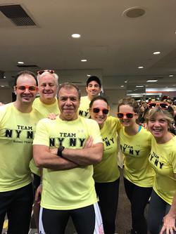 Dri-fit shirt decoration  TEAM NYNY