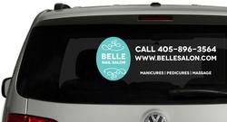 Van window stickers