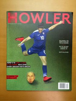 Perfect bound magazine
