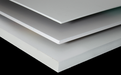 Sintra is a PVC Mounting board