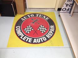 Floor graphics advertising printing