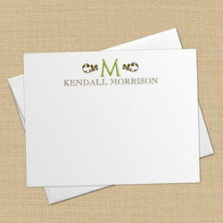 Personalized note card printing