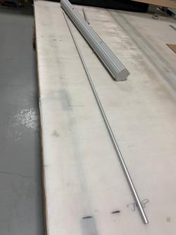 Bannerstand pole