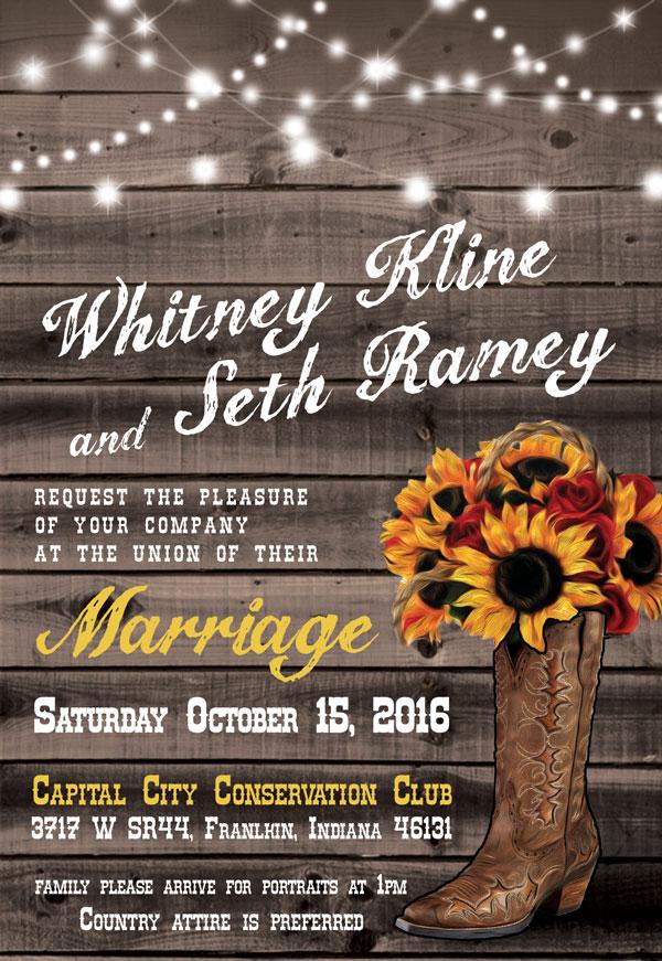 Printing wedding invitations NYC