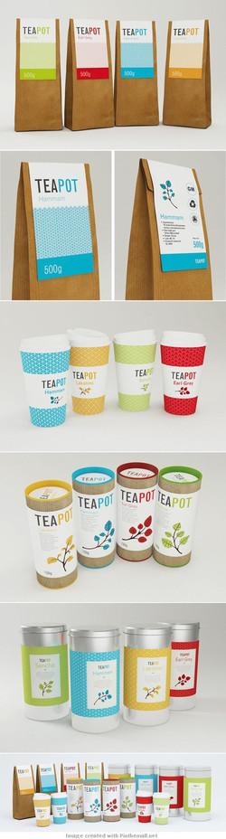 Ice cream container stickers