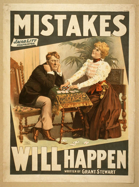 Mistakes Theater poster print