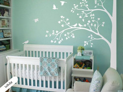 Baby nursey room vinyl wall graphics