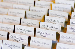 Seating place cards for any event