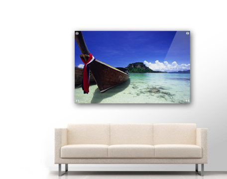 Acrylic plexiglass photo printing
