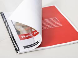 color printed presentations