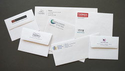 Personal envelope color printing