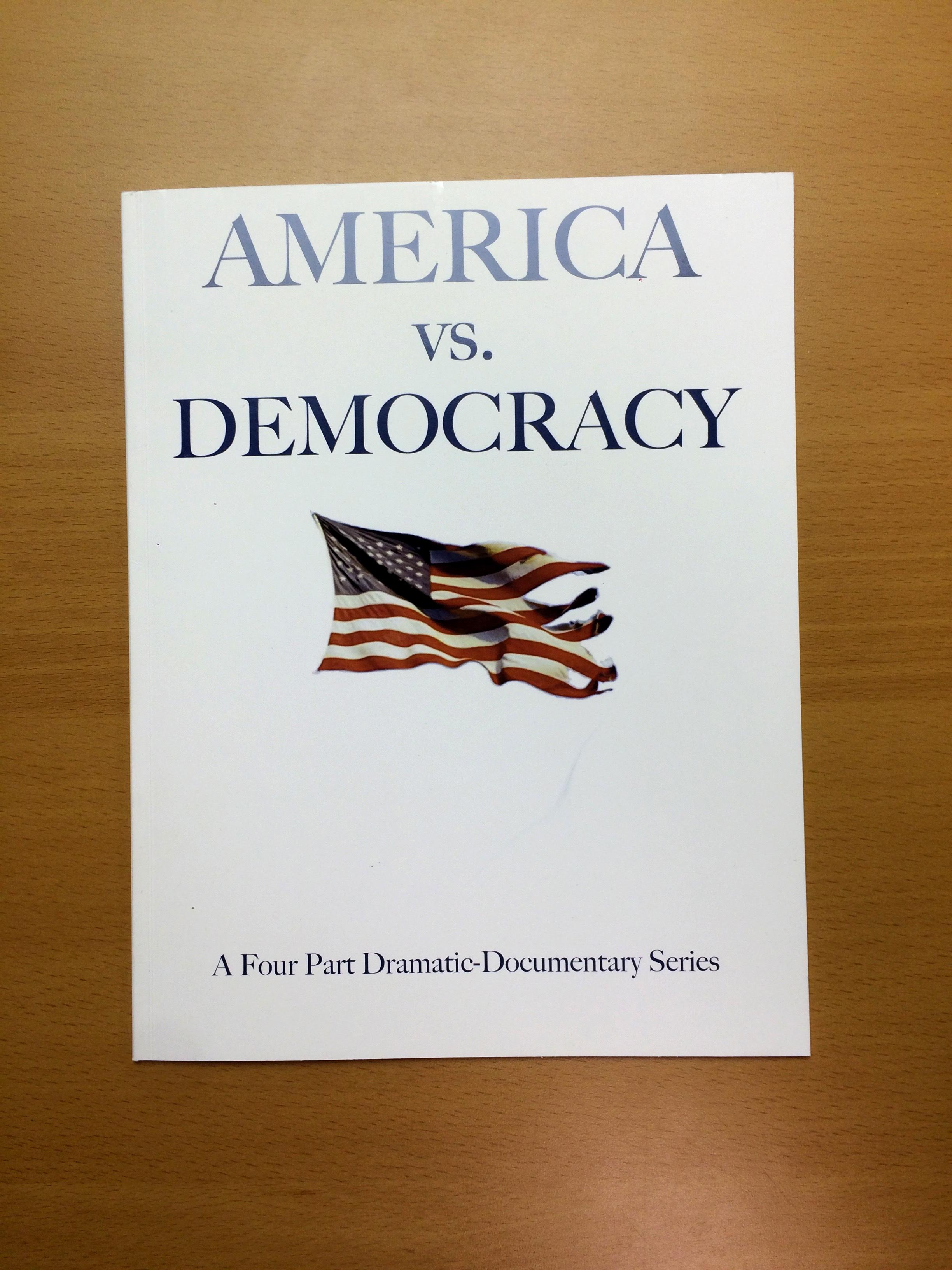 Perfect bound political book