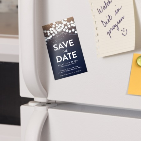 Buy save the date magnet in New York