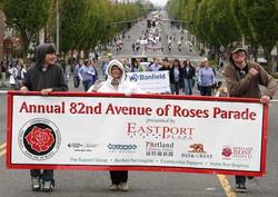 Roses Parade banner printing