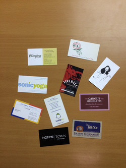 Full color business cards 2 sides