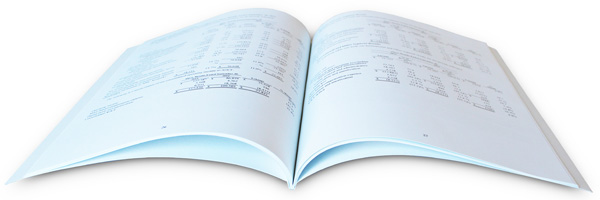 Finanical Document Printing Booklets