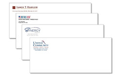 Business envelope color printing