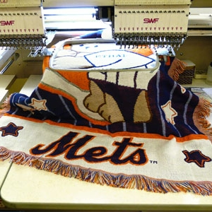 Custom stitching and embroidery in NYC