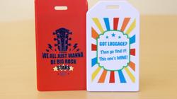 Digital print event tag for gift bag
