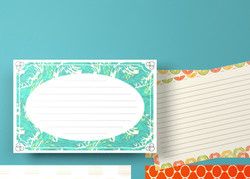 Any size note card printing