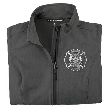 Embroidered jacket Fire department Plainview