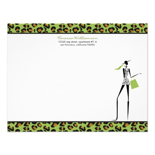 Personalized note pad printing