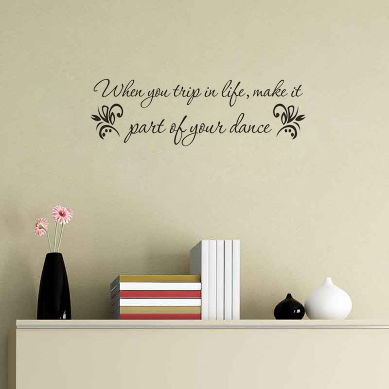 Custom vinyl decall wall words decoration