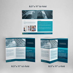 Rush prints product page brochures