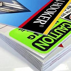 Rush Coroplast sign printing in NYC