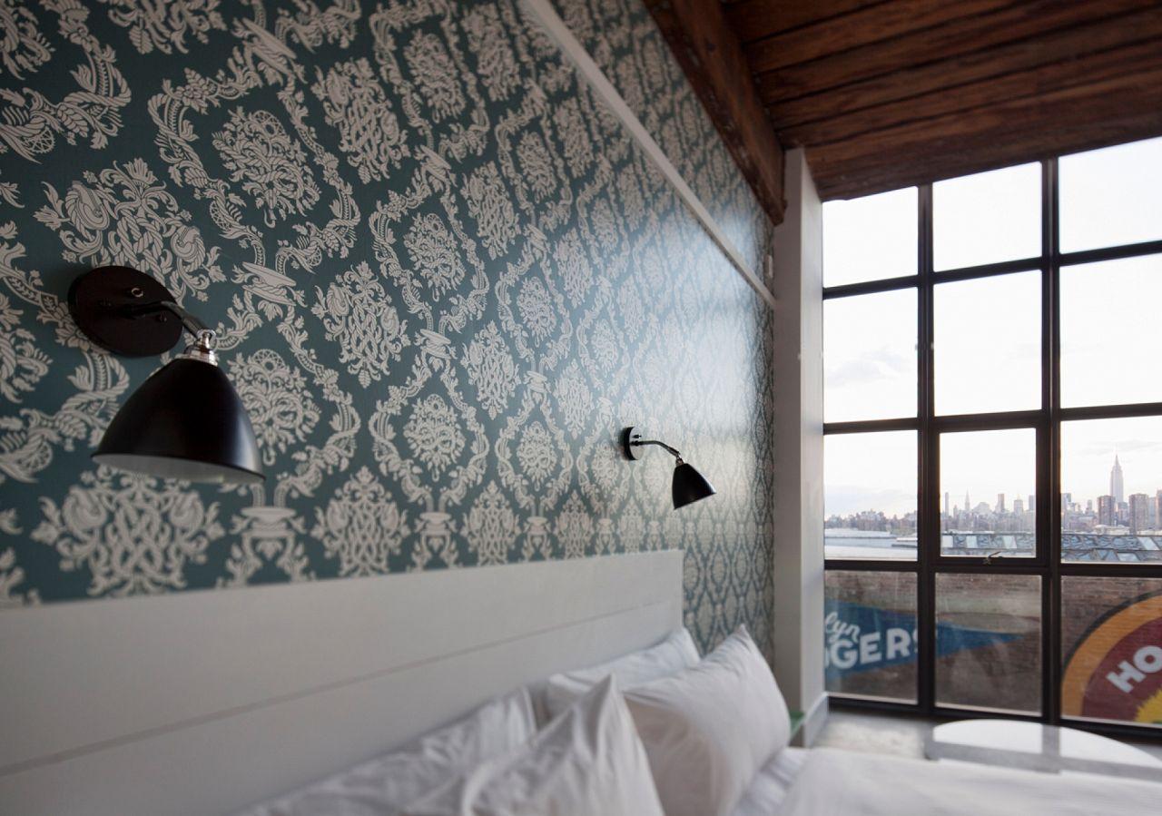 Custom printed relaxing wallpaper