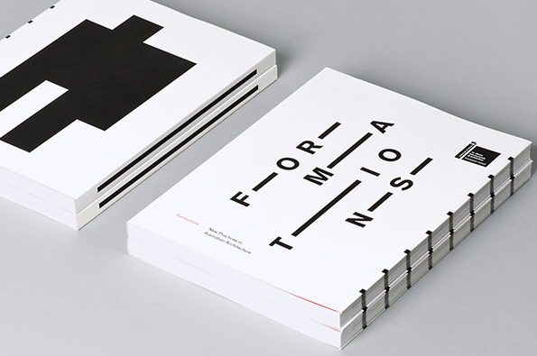 Architecture book printing with soft spine
