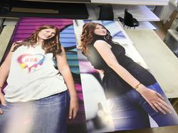 Poster prints in full color