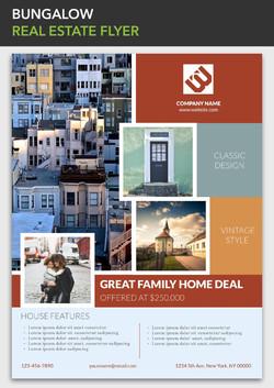 real estate flyer printing rush