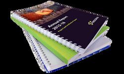 Spiral bound presentation book printing