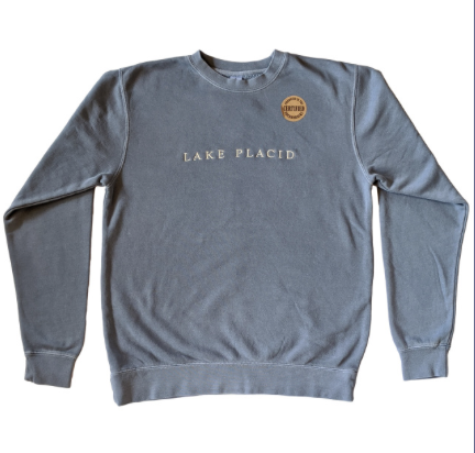 Embroidered sweatshirt fundraiser school