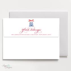 White envelope full color printing