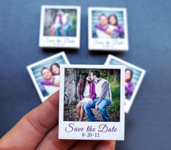 Save the date card magnets printing