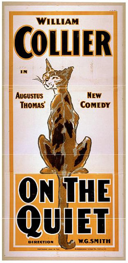 On the Quiet Theater poster print