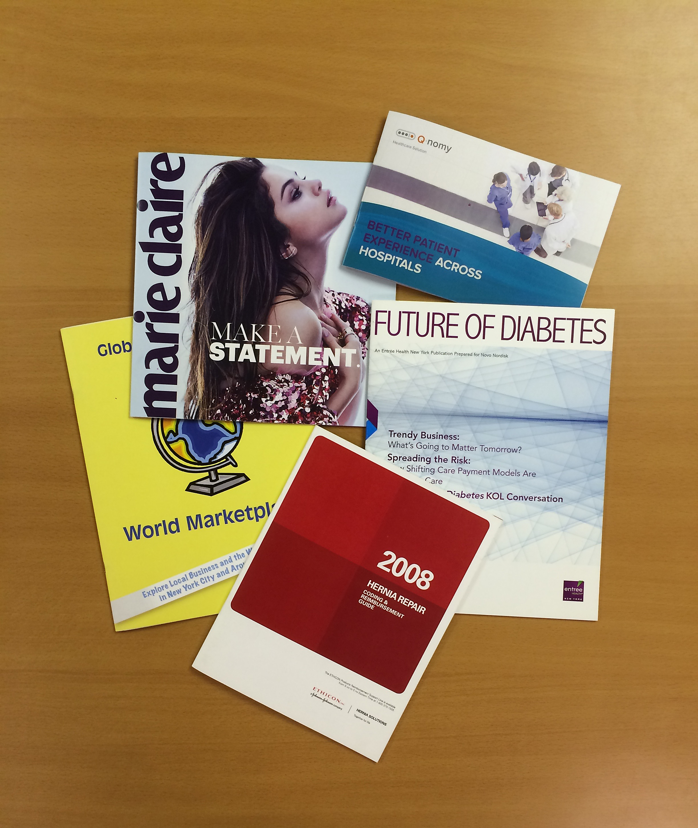 Fashion catalog portfolio printing