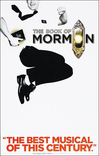Mormon Theater poster print