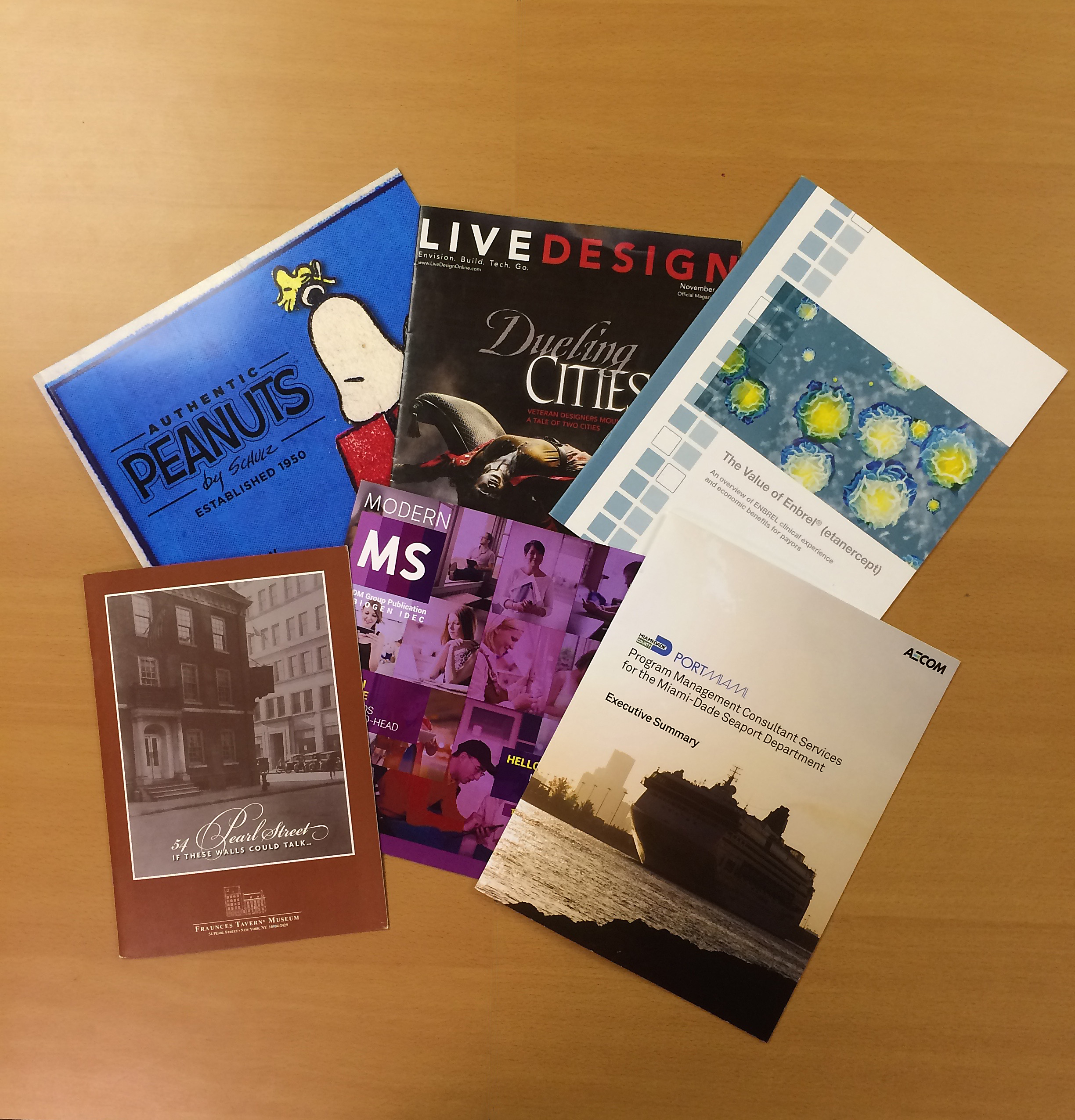 Product catalog portfolio printing