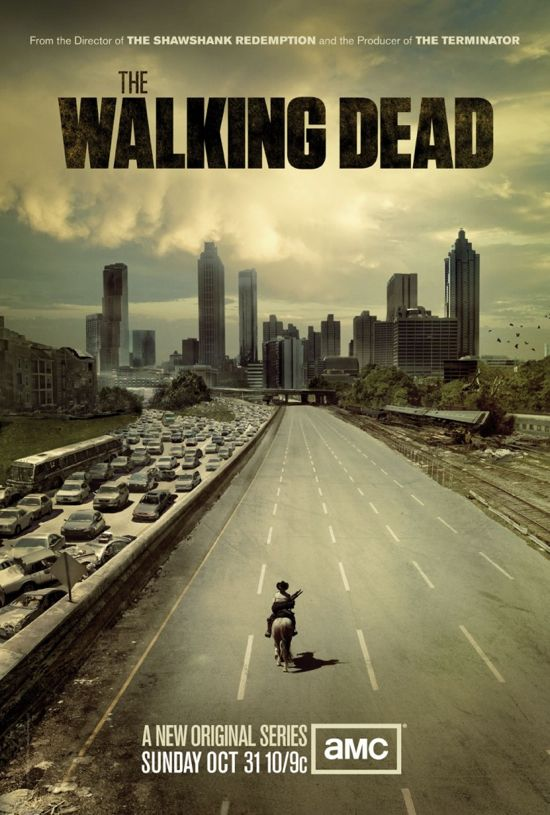 Walking Dead Theater poster print
