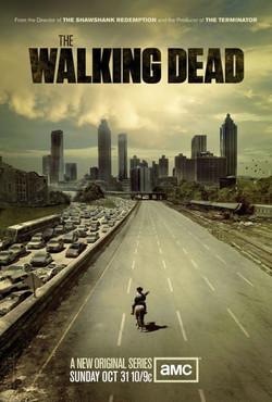 Walking Dead Theater poster print