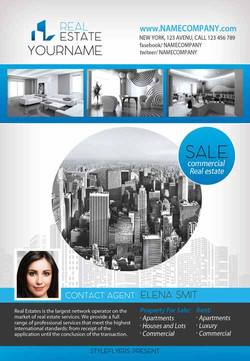 Real Estate Flyer printed overnight